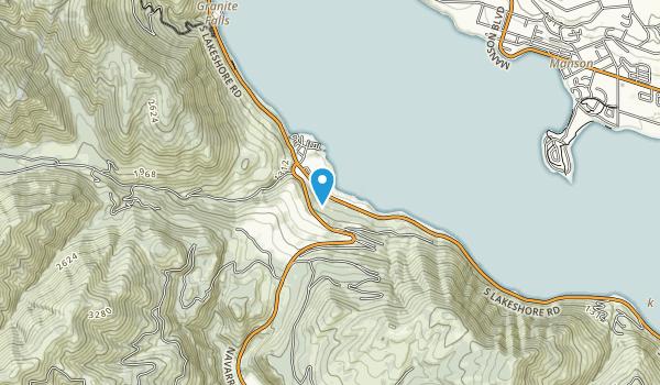 Lake Chelan State Park Map