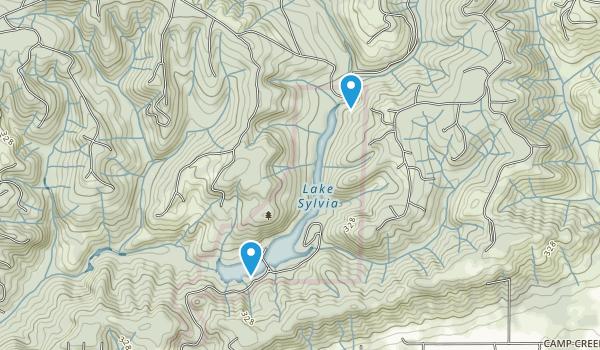 Lake Sylvia State Park Map