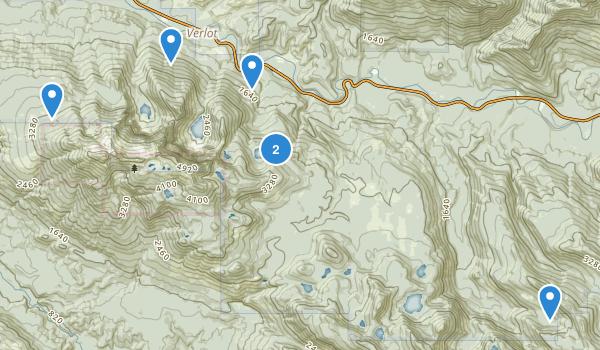 Mount Pilchuck State Park Map
