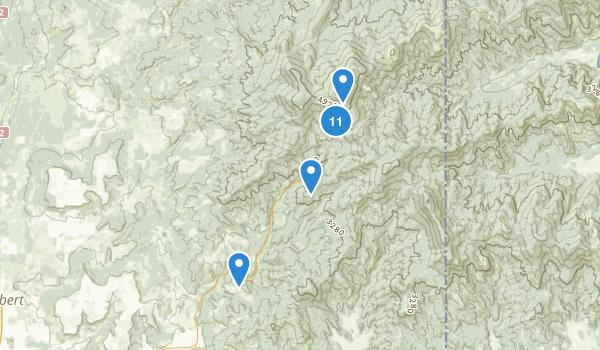 Mount Spokane State Park Map