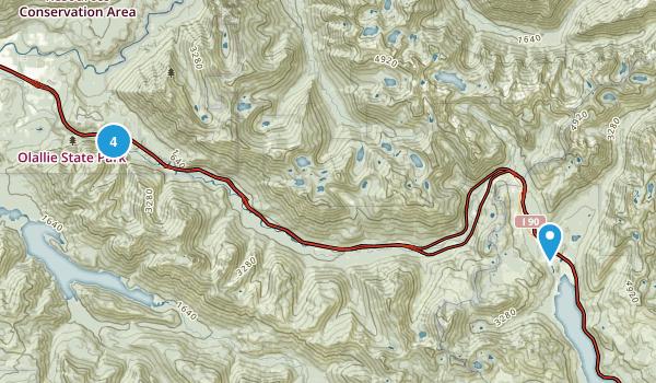 Olallie State Park Map