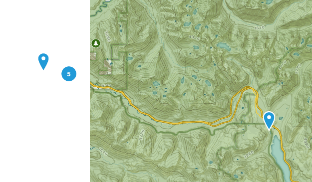 Olallie State Park Map