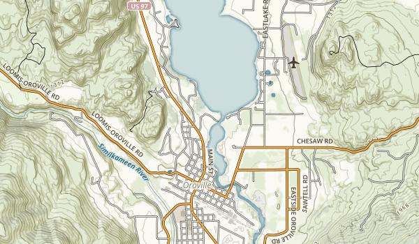 Osoyoos Lake State Park Map