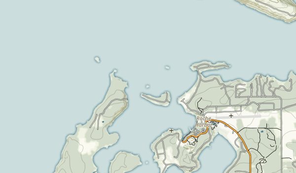 Posey Island State Park Map