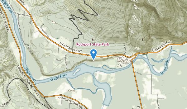 Rockport State Park Map