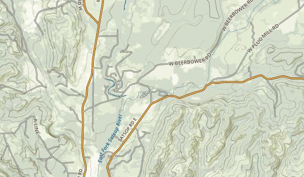 Schafer State Park Map
