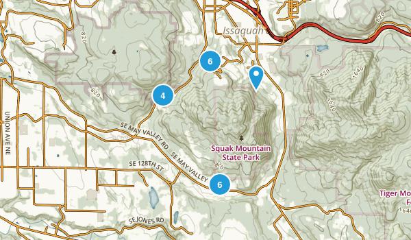 Squak Mountain State Park Map