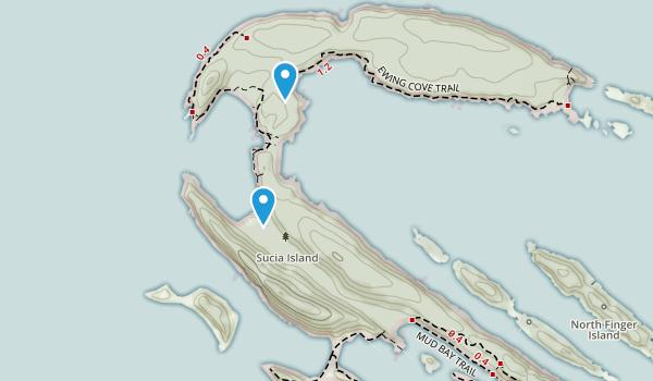 Sucia Island State Park Map