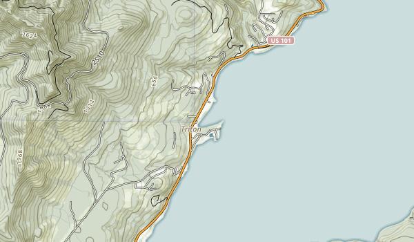 Triton Cove State Park Map