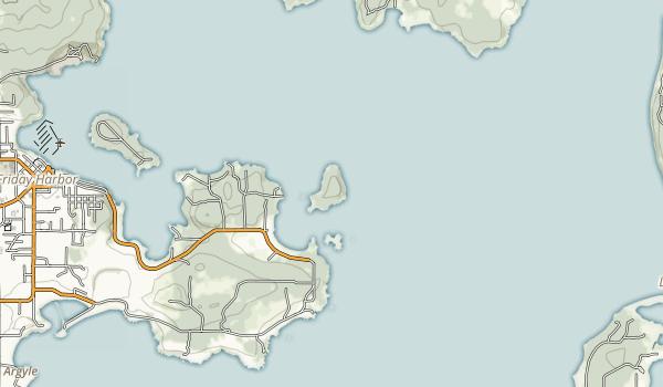 Turn Island State Park Map