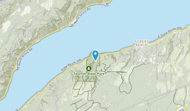 Twanoh State Park Map
