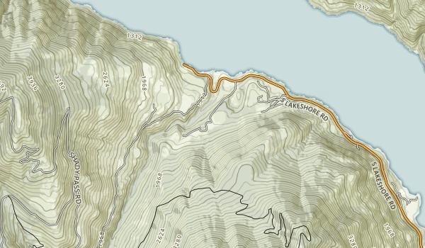 Twenty-Five Mile Creek State Park Map