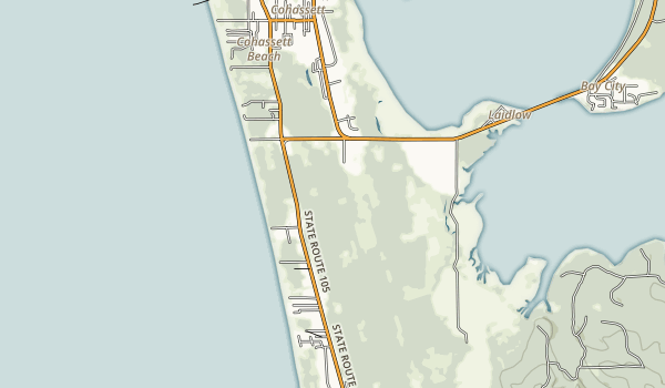 Twin Harbors Beach State Park Map