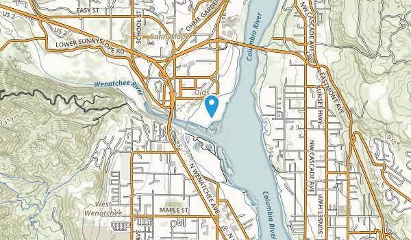 Wenatchee Confluence State Park Map