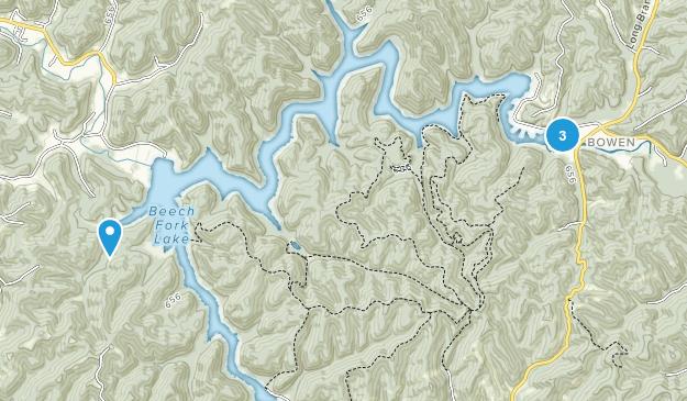 Buchengabel State Park Map