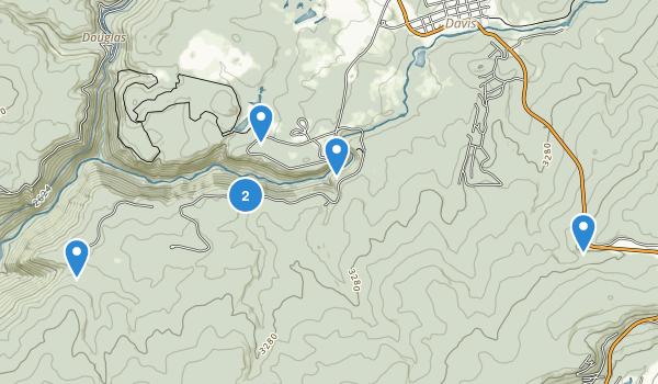 Blackwater Falls State Park Map
