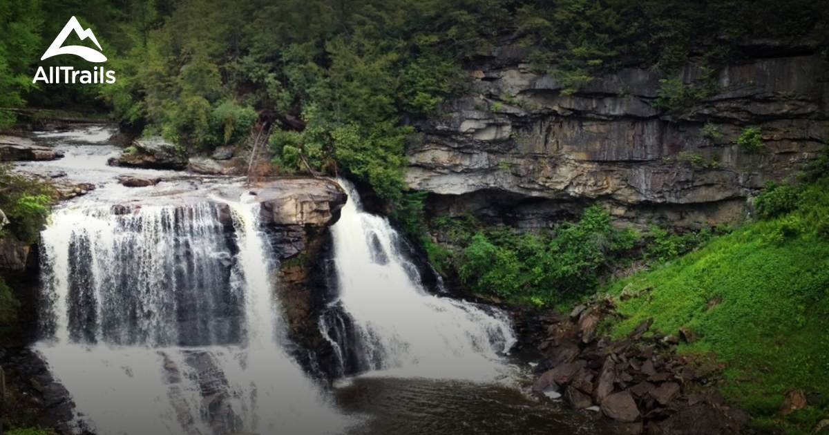 Natural Falls State Park Hiking Map