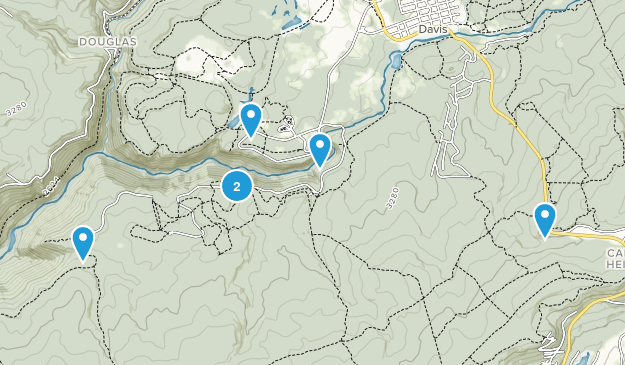 Blackwater Falls State Park Map