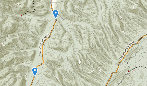 Greenbrier State Forest Map