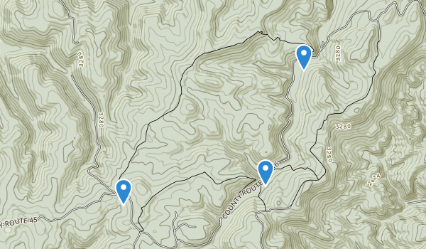 Kumbrabow State Forest Map