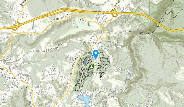 Little Beaver State Park Map