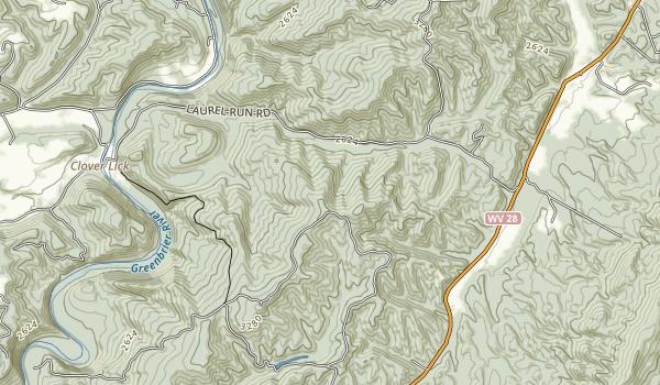 Seneca State Forest Map