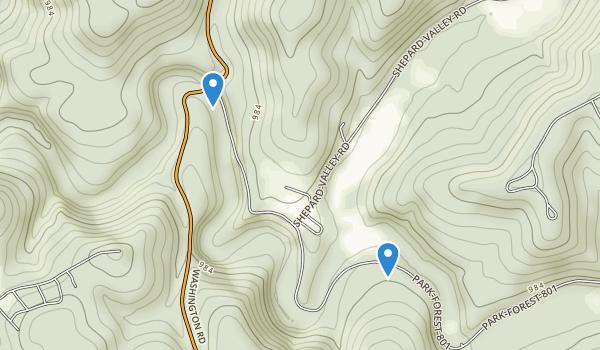 Tomlinson Run State Park Map