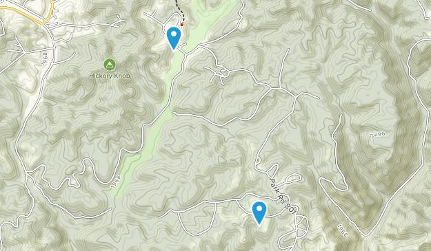Twin Falls Resort State Park Map