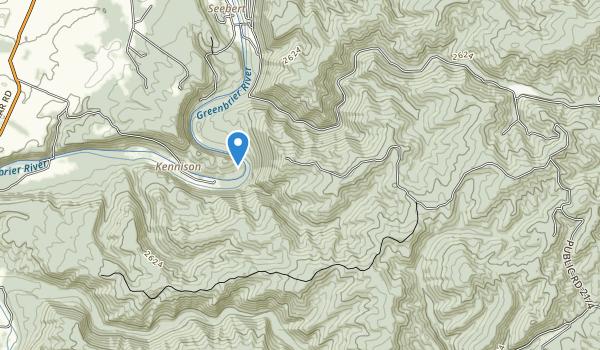 Watoga State Park Map