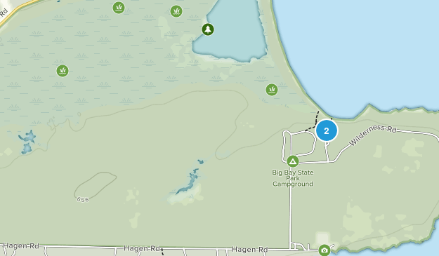 Big Bay State Park Map