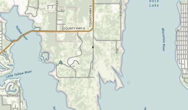 Buckhorn State Park Map