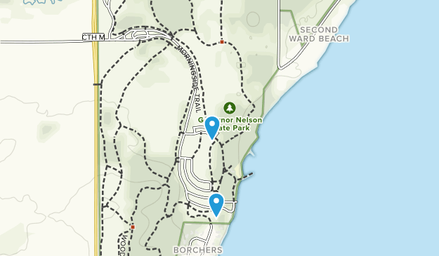 Governor Nelson State Park Map
