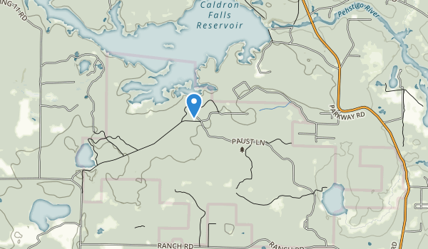 Governor Thompson State Park Map