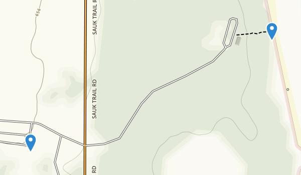 Harrington Beach State Park Map
