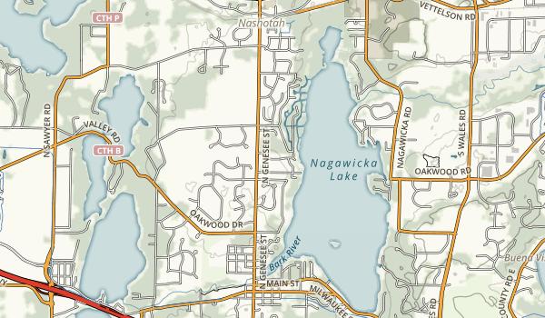 Kettle Moraine Scenic Drive Map