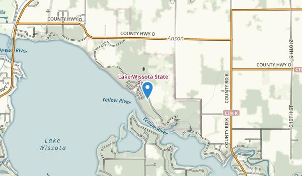 Lake Wissota State Park Map