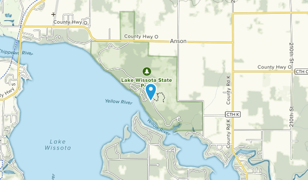 Lake Wissota State Park Map