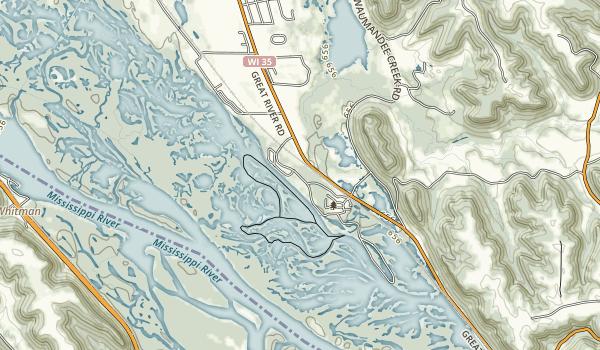 Merrick State Park Map