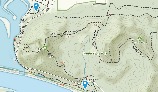 Perrot State Park Map