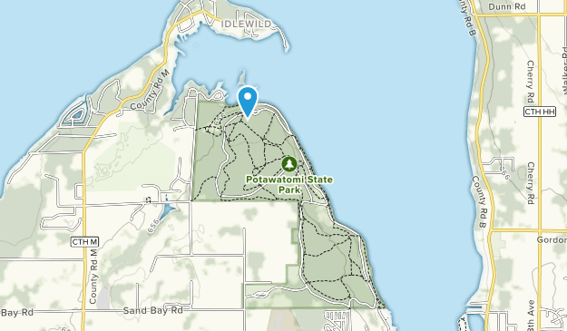 Potawatomi State Park Map