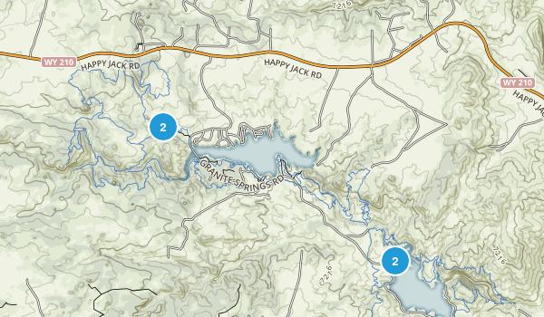 Curt Gowdy Map