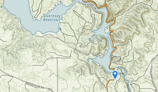 Guernsey State Park Map