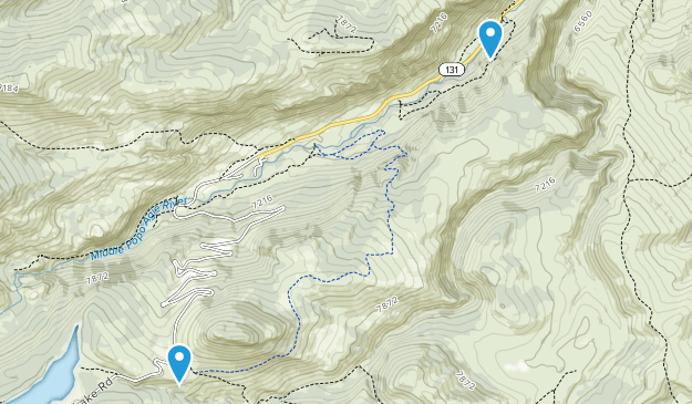 Sinks Canyon State Park Map