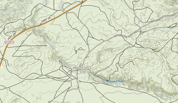 South Pass City Map