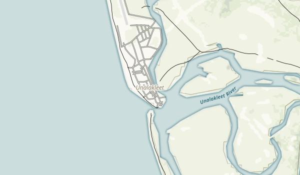 Unalakleet National Wild River Recreation Management Area Map