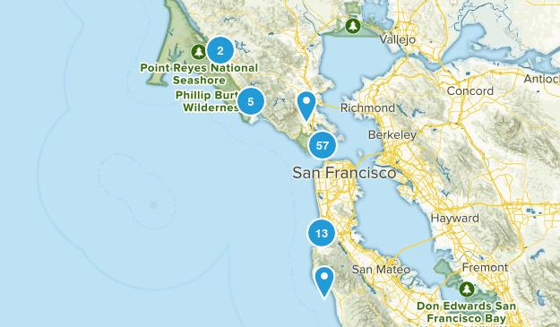 Golden Gate National Recreation Area Map
