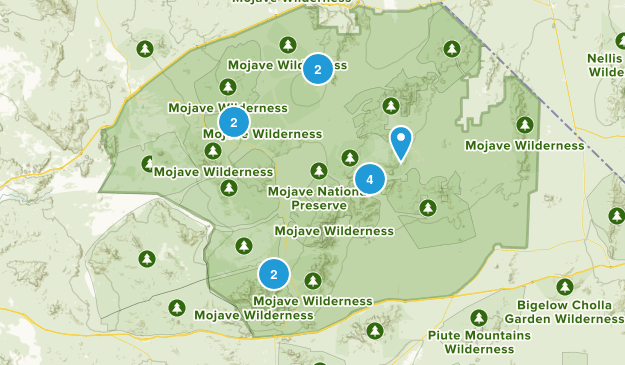 Mojave National Preserve Map