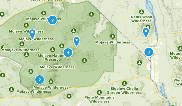 Mojave Desert In California Map.Best Trails In Mojave National Preserve California Alltrails