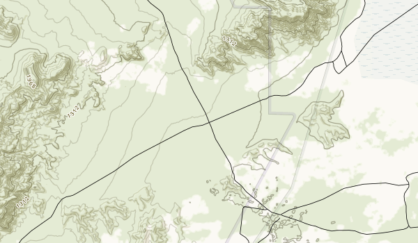 Rasor Off-Highway Vehicle Area Map