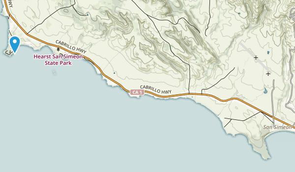 San Simeon State Park Map
